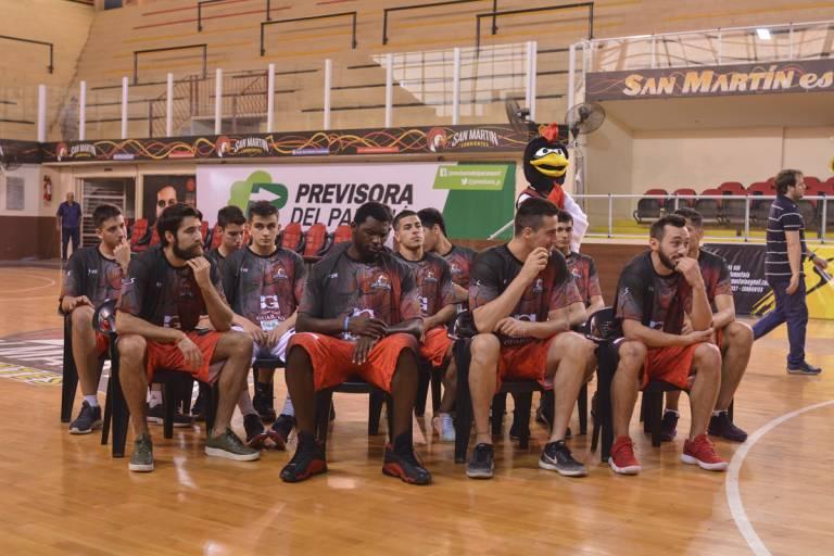 San Martín presentó su nuevo plantel para la Liga Nacional