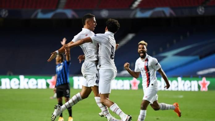 PSG eliminó a Atalanta de la Champions